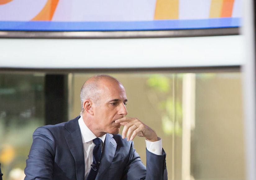 What Matt Lauer Could Be Doing After 'Today' Termination