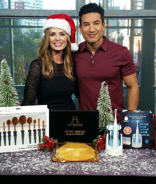 'Extra's' Pop-Up Shop: Makeup Brushes, Face Masks, Toothbrushes and Watches