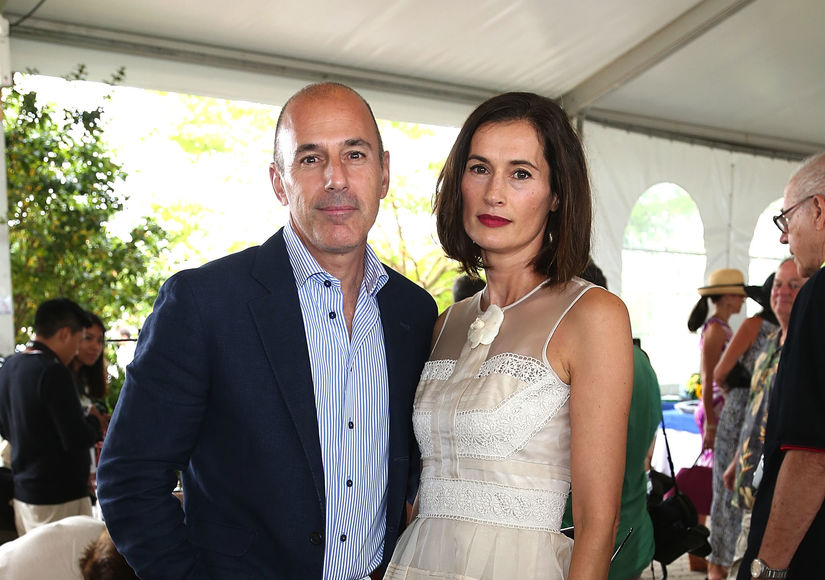 Matt Lauer's Wife Meeting with Divorce Lawyers Amid Sexual Harassment Scandal