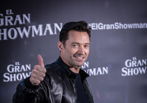 'Greatest Showman' Hugh Jackman Celebrates Golden Globe Nomination