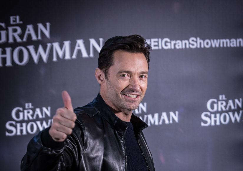 'Greatest Showman' Hugh Jackman Celebrates Golden Globe Nomination
