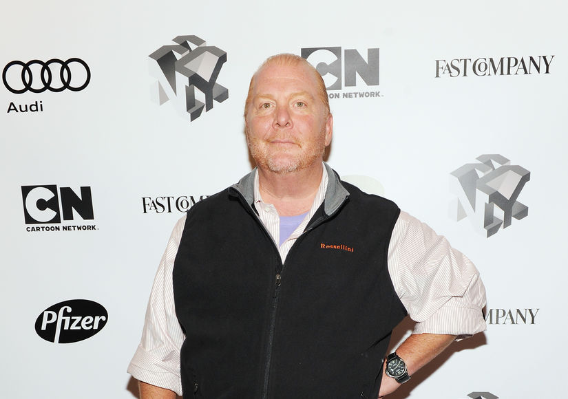 Video Surfaces of Mario Batali Talking About Sexual Harassment in the Workplace