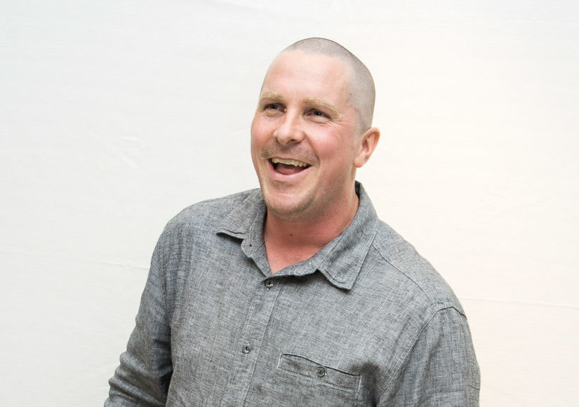Christian Bale Jokes He Could Play Santa Thanks to Latest On-Screen…