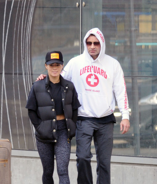 Pic! David Duchovny Sparks Romance Rumors with Much Younger Woman