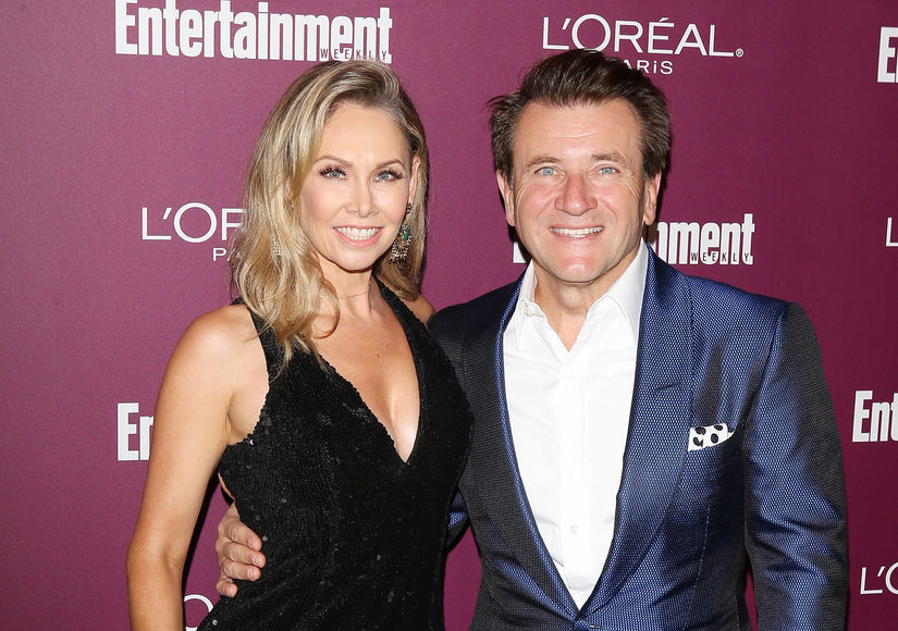 'DWTS' Couple Kym Johnson & Robert Herjavec Expecting Twins!
