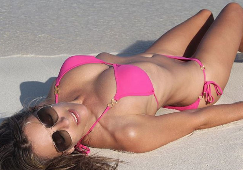 Flaunting It at 52! See Elizabeth Hurley's Hottest Bikini Pics