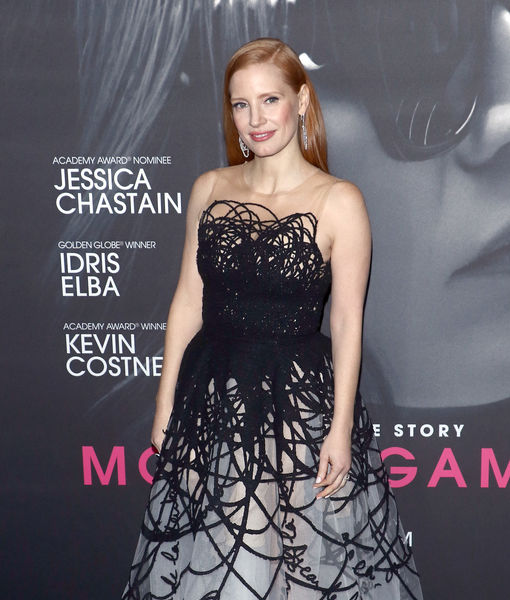 Jessica Chastain Praises Salma Hayek, Plus: Her 'Stressful' Experience with High Stakes Poker