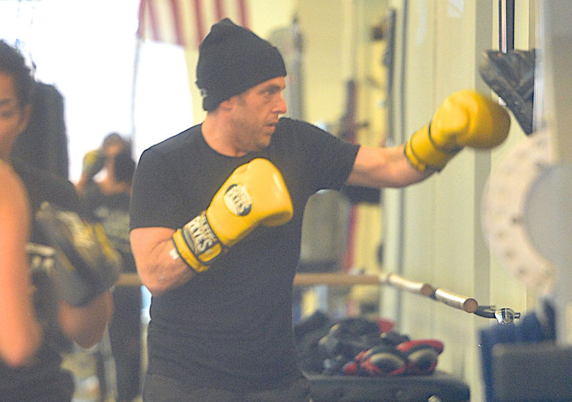 Pics! Jonah Hill Shows Off Buff Bod While Boxing