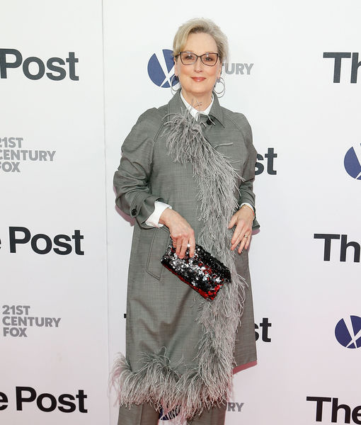 Meryl Streep on Women Reportedly Wearing Black to the Golden Globes 2018