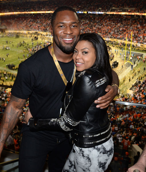 Taraji P. Henson Dishes on Her Secret Romance with Kelvin Hayden