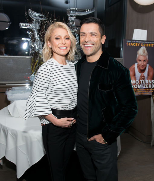 Kelly Ripa & Mark Consuelos Share Family Holiday Pic... After Daughter Approves!