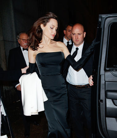 Angelina Jolie's Glam Night Out with Her Kids!