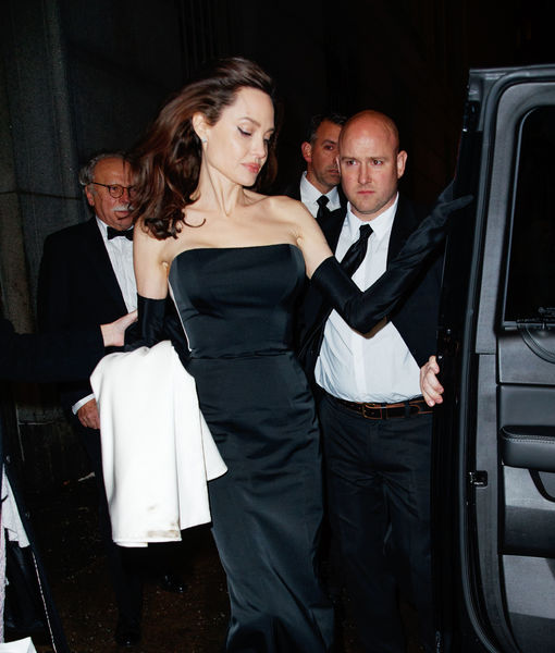 Angelina Jolie's Glam Night Out with Her Kids & PTC... Personal Train Carrier!