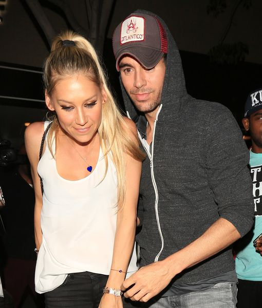 Report: Enrique Iglesias & Anna Kournikova Secretly Welcome Twins