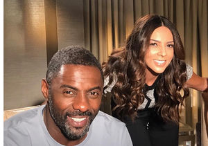 Watch Idris Elba Get Starstuck Over Terri Seymour