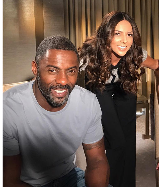 Watch Idris Elba Get Starstuck Over Terri Seymour