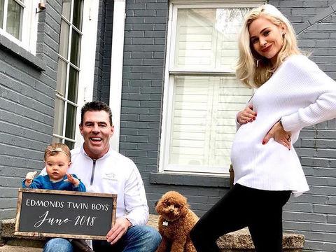 Meghan King Edmonds Expecting Twin Boys Extratv Com