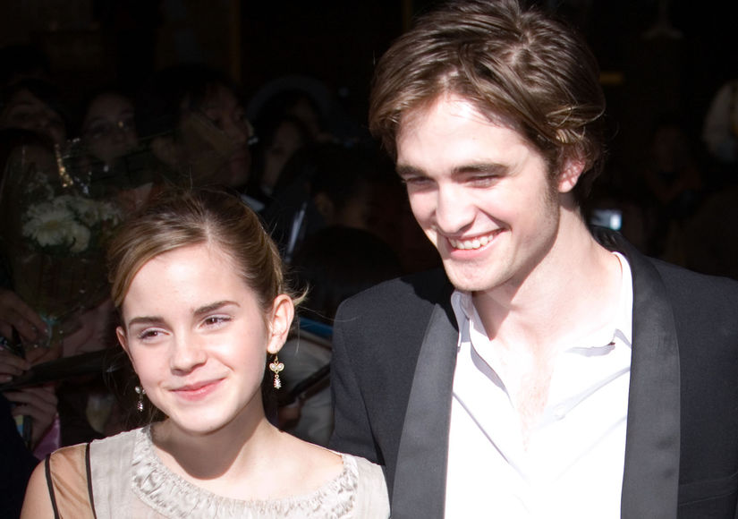 Rumor Bust! Robert Pattinson & Emma Watson Are Not Dating