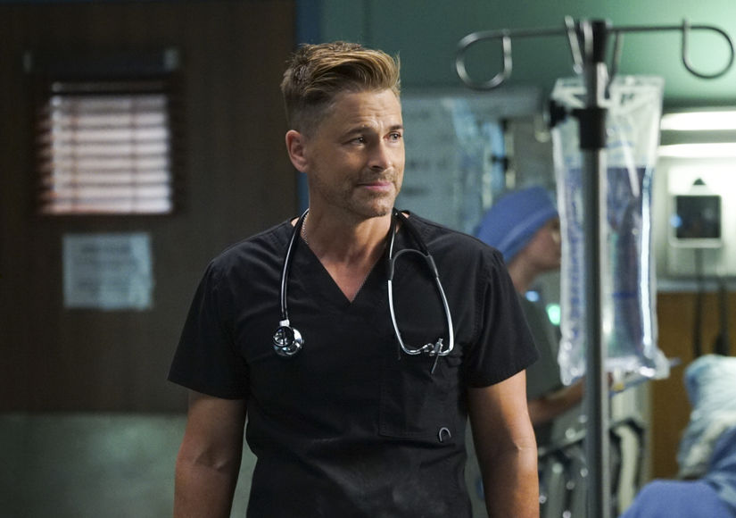 Rob Lowe Reveals the One Thing He Refuses to Do on 'Code Black'