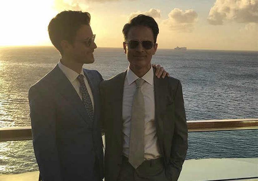 Sunset Wedding! Brad Goreski and Gary Janetti Are Married