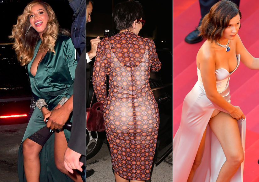 The Craziest Celebrity Wardrobe Malfunctions of 2017!