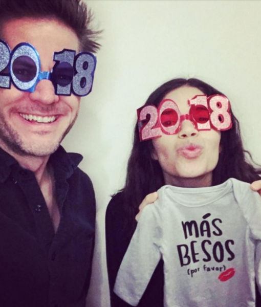 The Stars Celebrate New Year's Eve