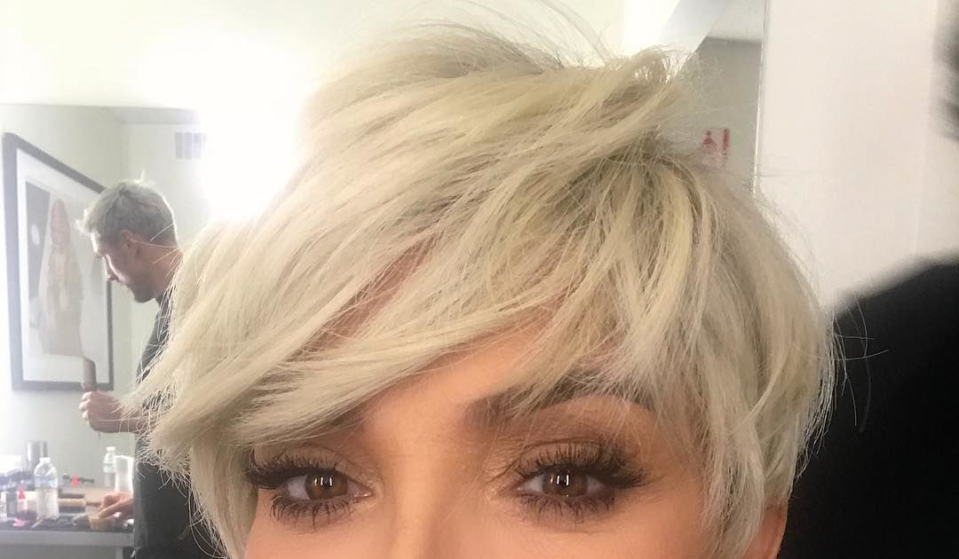 Kris Jenner Blonde Haircut Best Image Of Blonde Hair 2018