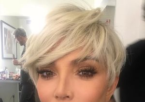 Kris Jenner Goes Platinum Blonde Again — See the Pic!