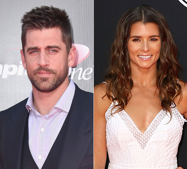 Racer and aspiring model Danica Patrick confirms she is dating Aaron Rodgers