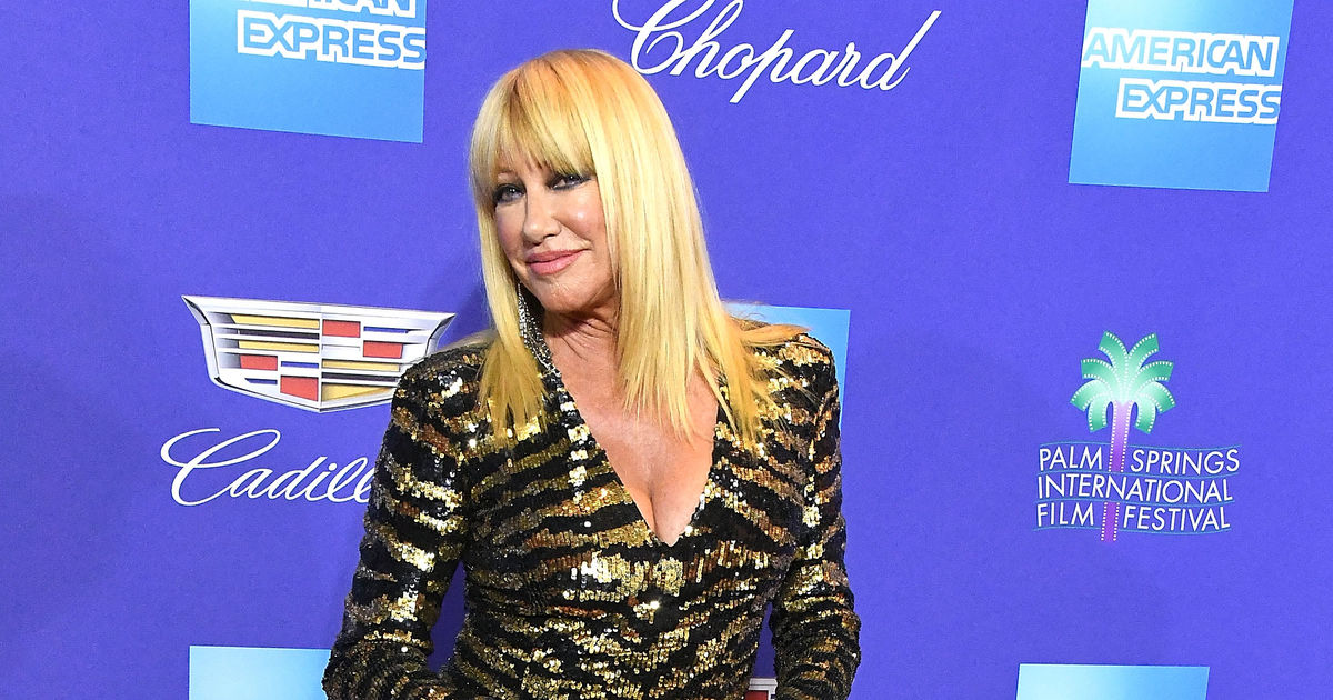 Wowza! Suzanne Somers Rocks a Balmain Minidress at 71 ...