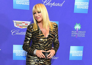 Wowza! Suzanne Somers Rocks a Balmain Minidress at 71