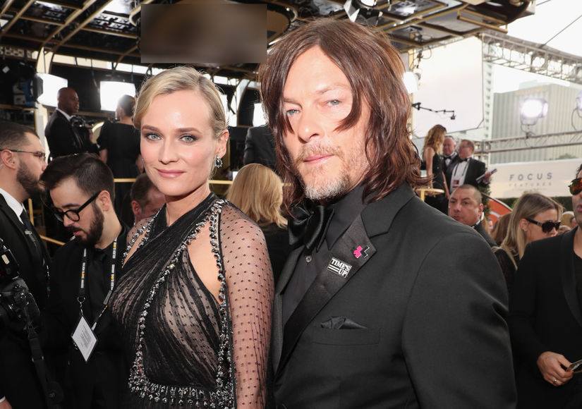 Caught Kissing! Diane Kruger & Norman Reedus Make Red-Carpet Debut at…