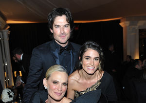 Ian Somerhalder Suffers Two Wardrobe Malfunctions, Skips Golden Globes Party…