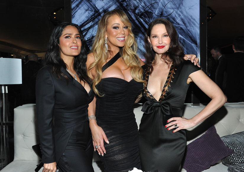 salma-hayek-mariah-carey-ashley-judd-getty