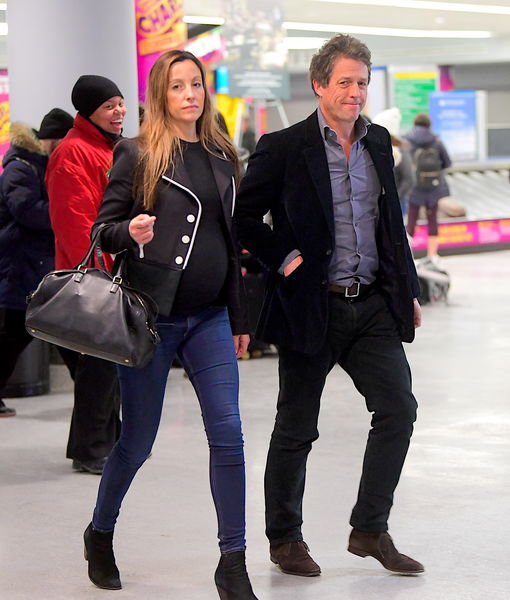 Hugh Grant Expecting Baby #5