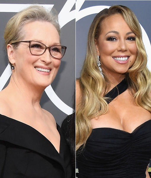 Meryl Streep's Epic Reaction to Mariah Carey Stealing Her Seat at Golden…