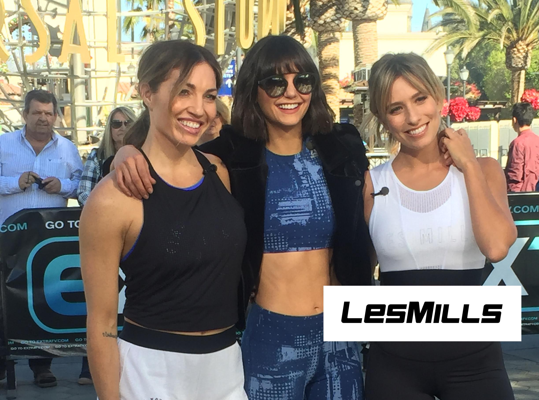Nina Dobrev Shares Her LES MILLS GRIT Workout!