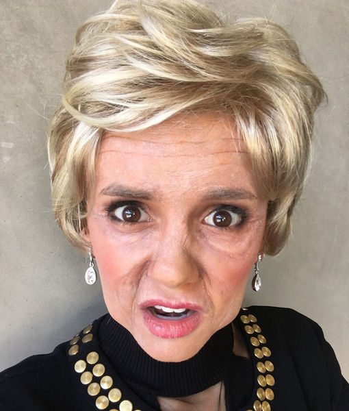 Nina Dobrev Is Unrecognizable as Old Lady in Funny or Die Skit — See the Pic!