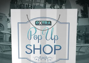 'Extra's' Pop-Up Shop: Teeth Whiteners, Facial Care Sets and Pearls