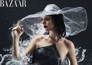 Kendall Jenner Covers Harper's Bazaar, Says She's Been Waking Up with…