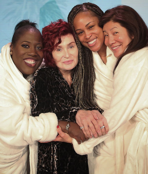 'The Talk' Co-Hosts Go Makeup-Free!