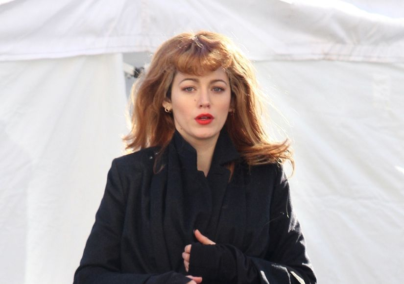 Blake Lively Rocks Two Different Hairstyles on 'Rhythm Section' Set