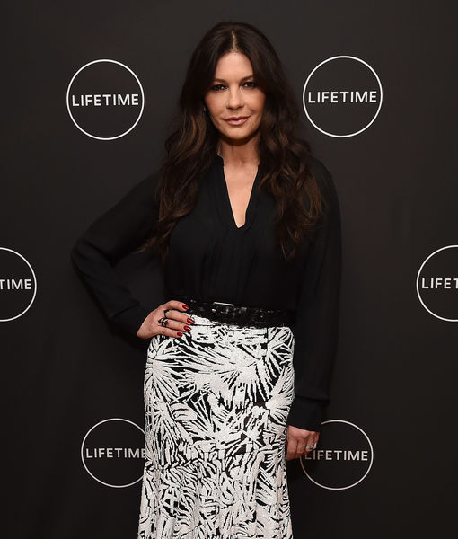 Catherine Zeta-Jones Would Brave the Freezing Cold for Oprah