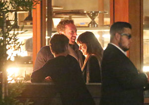 First Pic! Chris Martin & Dakota Johnson Spotted on Romantic Dinner Date