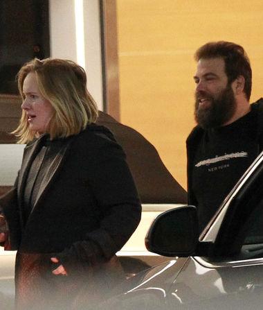 Rare Pic of Adele & Simon Konecki's Date Night in Los Angeles