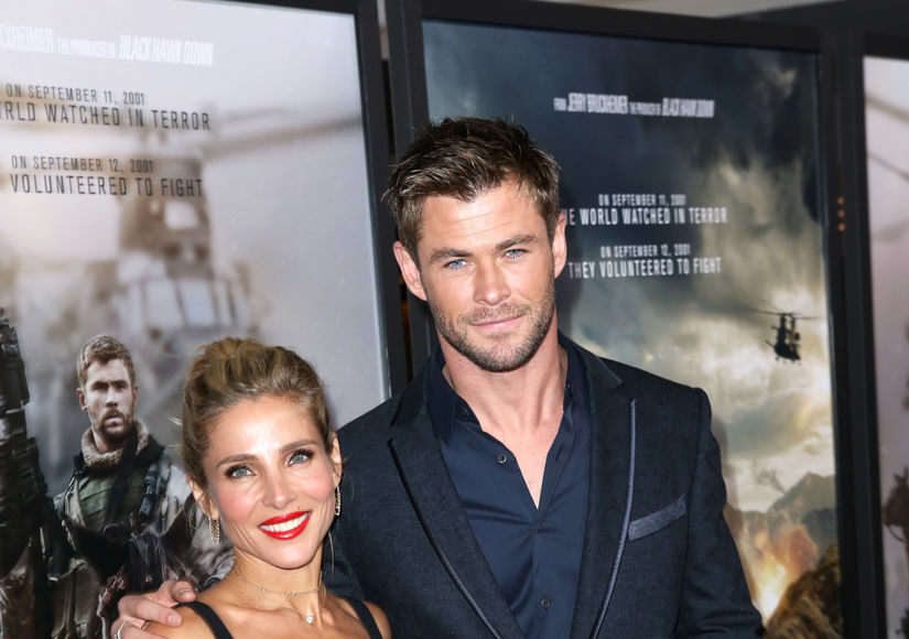 Chris Hemsworth & Elsa Pataky on Their Alone Time on '12 Strong'
