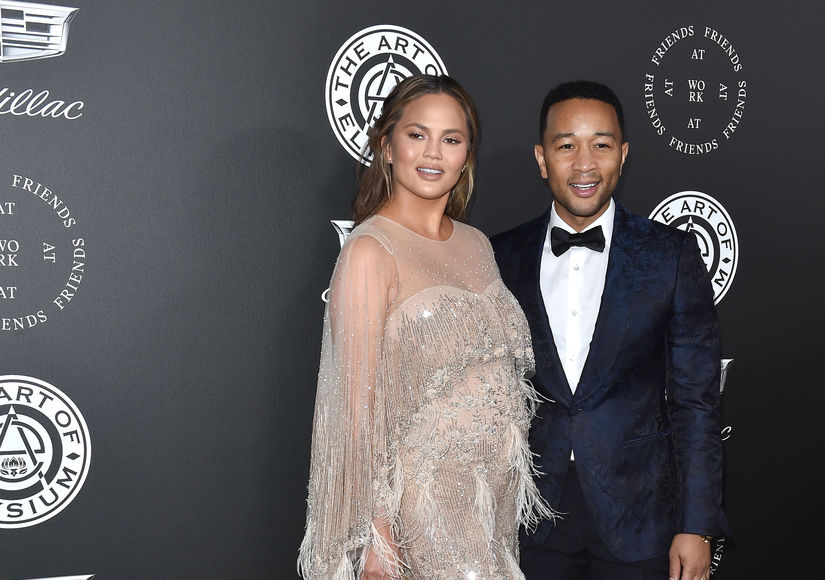 Chrissy Teigen & John Legend Are Not Revealing Baby #2's Gender