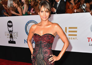 Halle Berry Did a Topless Headstand! See the Pic