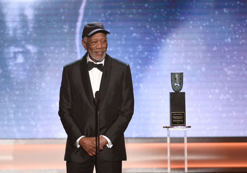 Who Did Morgan Freeman Call Out at the SAG Awards?