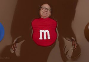 Danny DeVito Stars as Red M&M in New Super Bowl Commercial
